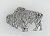 Buffalo 3 Lapel Pin