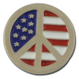 Peace Flag Lapel Pin