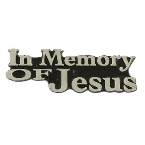 Memory of Jesus Lapel Pin