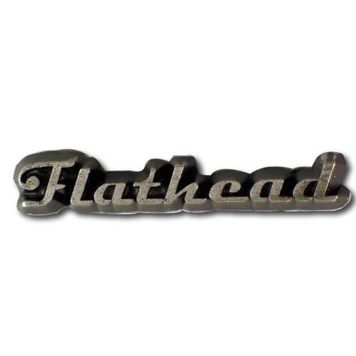 Flathead Engine Lapel Pin