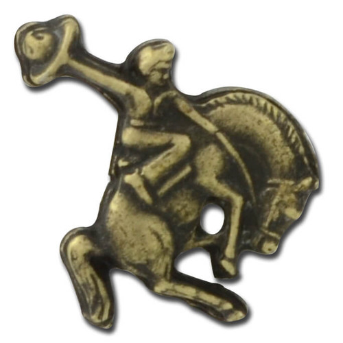 Bucking Bronco Lapel Pin