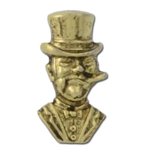 Cigar Man Lapel Pin
