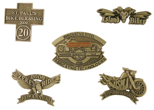 Custom Biker Pins: Completely Custom Biker Pins