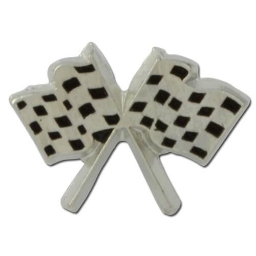 Checkered Flag Lapel Pin