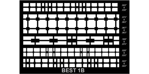 BEST Circuit Frame 1B Dry Film version