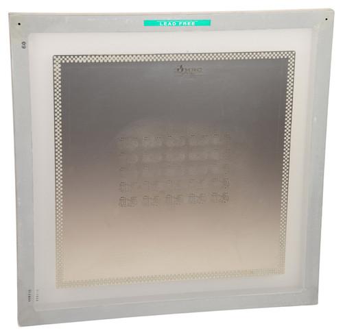 Framed PCB stencil