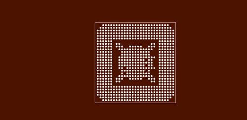 Reballing preform for SIS650 IGUI Host Memory Controller
