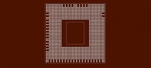 Reballing preform for PS3 CPU
