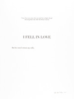 "David Skeens, ""I Fell in Love"""
