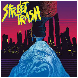 RICK ULFIK Street Trash (Original Motion Picture Soundtrack) (Yellow Wax) LP