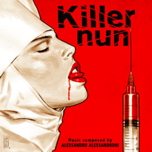 ALESSANDRO ALESSANDRONI Killer Nun Original Motion Picture Soundtrack LP