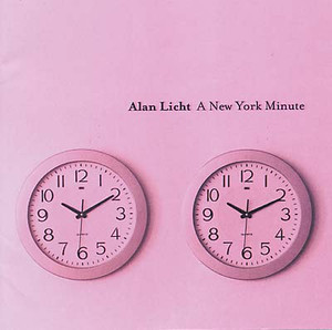 ALAN LICHT A New York Minute 2CD