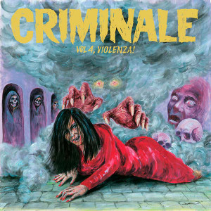 VA: Criminale Vol. 4 - Violenza! LP+CD