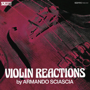 ARMANDO SCIASCIA Violin Reactions LP
