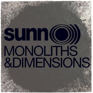 SUNN O))) Monoliths & Dimensions (Clear Vinyl) 2LP