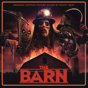 ROCKY GRAY The Barn - Original Motion Picture Score LP