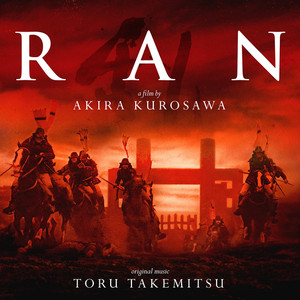 TORU TAKEMITSU: Ran (1985 Original Soundtrack) 2LP