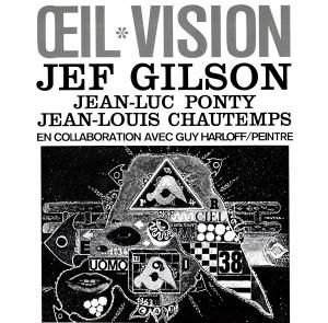 JEF GILSON/JEAN LUC PONTY/JEAN LOUIS CHAUTEMPS: Oeil Vision LP