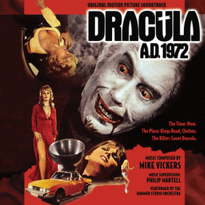 MIKE VICKERS: Dracula A.D. 1972 CD