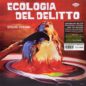 STELVIO CIPRIANI: A Bay Of Blood (Ecologia Del Delitto/Reazione A Catena) LP