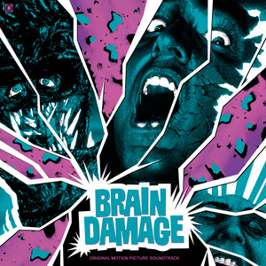 GUS RUSSO & CLUTCH REISER: Brain Damage (Original Soundtrack) LP