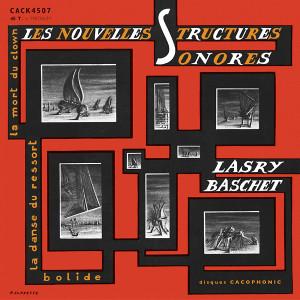 """LASRY-BASCHET: Les Nouvelles Structures Sonores 7"""""""