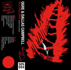 OGRE AND DALLAS CAMPBELL: All Hallows' (Red Shell) Cassette