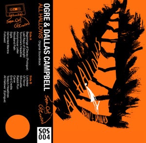 OGRE AND DALLAS CAMPBELL: All Hallows' (Pumpkin Orange) Cassette