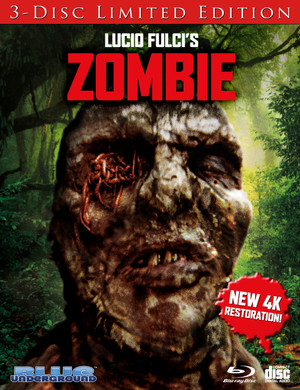 Zombie: Limited Edition (Cover C Worms) Blu-Ray