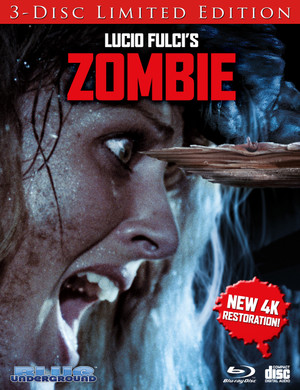 Zombie: Limited Edition (Cover B Splinter) Blu-Ray