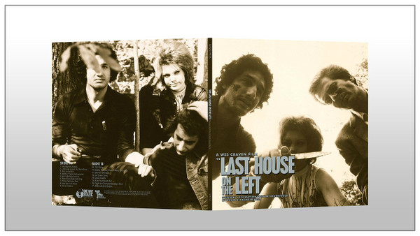 DAVID HESS Last House On The Left (Original 1972 Motion Picture Soundtrack) LP