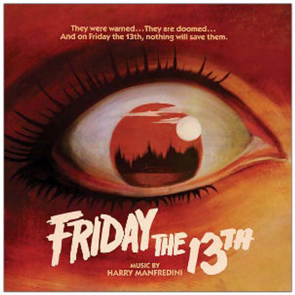 HARRY MANFREDINI Friday the 13th (1980 Original Score) LP