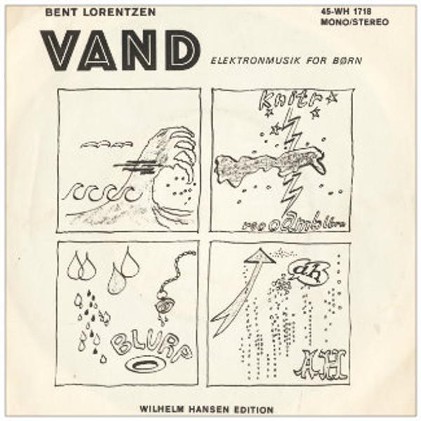 BENT LORENTZEN Vand & Electronic Music CD-R