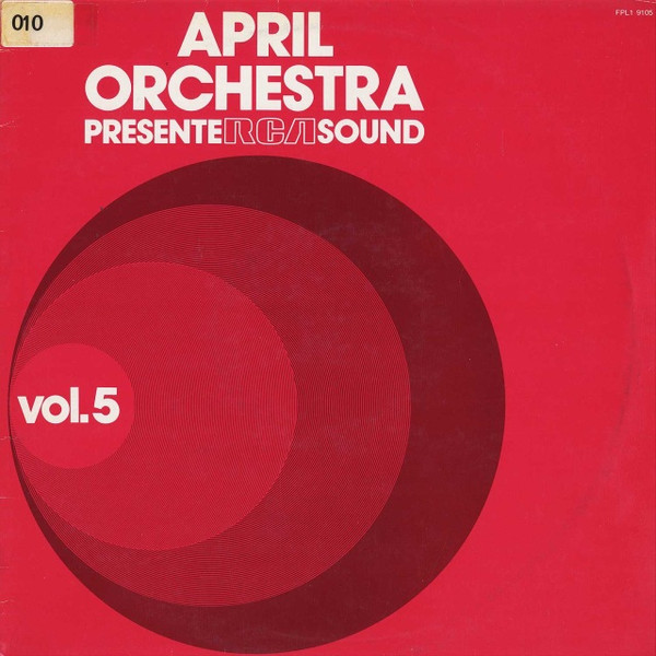 DI JARRELL April Orchestra Vol.5 CD-R
