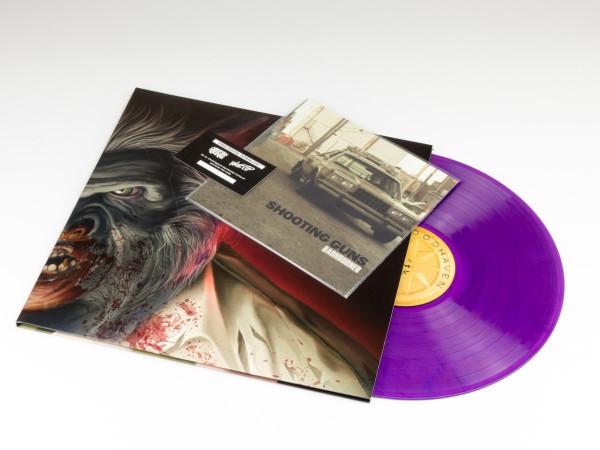 "SHOOTING GUNS Wolfcop (Original Motion Picture Soundtrack) LP+7"""