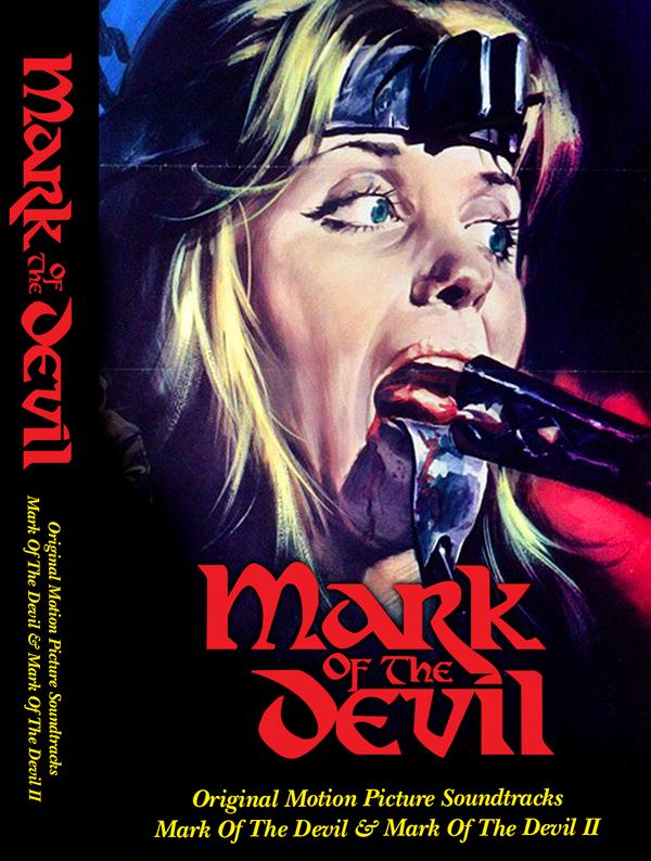 MICHAEL HOLM Mark Of The Devil I & II (Original Motion Picture Soundtracks) CS