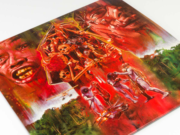 RIZ ORTOLANI Cannibal Holocaust (UK Version) VALENTINE'S DAY RED LP