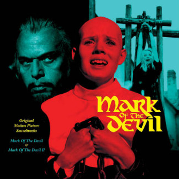 MICHAEL HOLM Mark Of The Devil I & II (Original Motion Picture Soundtracks) LP