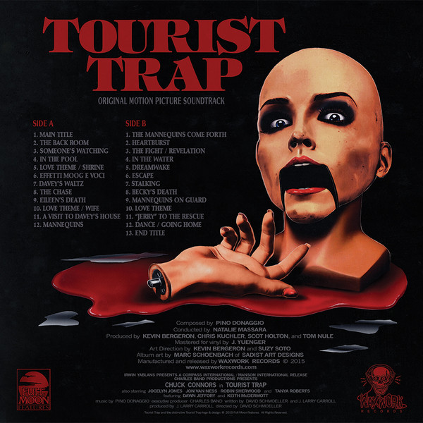 PINO DONAGGIO Tourist Trap LP