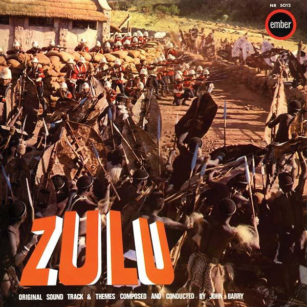 JOHN BARRY Zulu LP