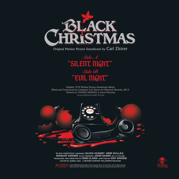 CARL ZITTRER: Black Christmas LP