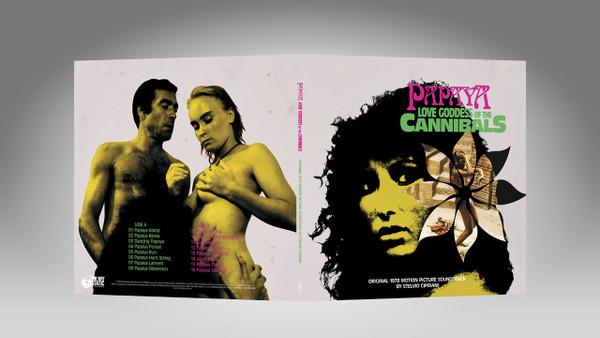 STELVIO CIPRIANI Papaya, Love Goddess Of The Cannibals (Original 1978 Motion Picture Soundtrack) LP