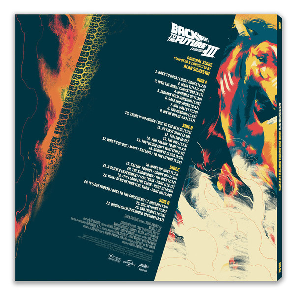 ALAN SILVERSTRI Back To The Future III 2LP