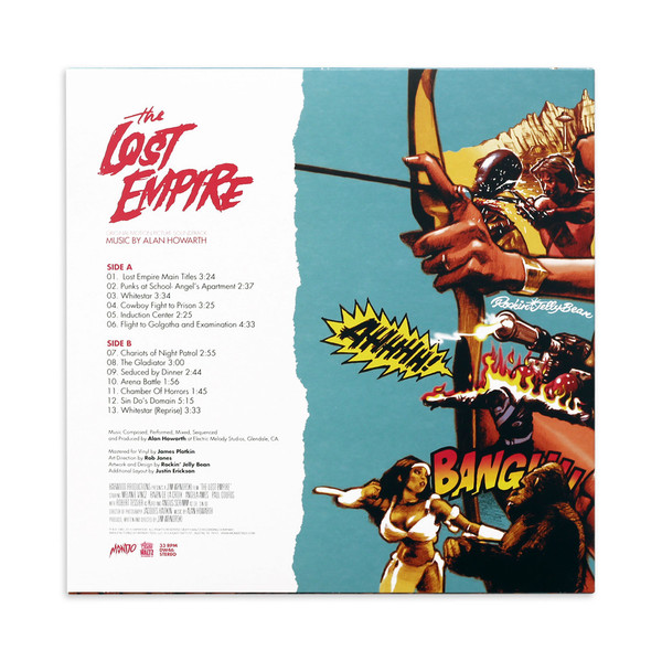 ALAN HOWARTH: The Lost Empire (1983 Original Motion Picture Soundtrack) LP