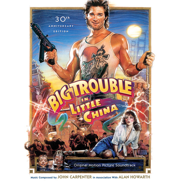 JOHN CARPENTER & ALAN HOWARTH: Big Trouble in Little China (30th Anniversary Soundtrack Limited Edition) 2CD