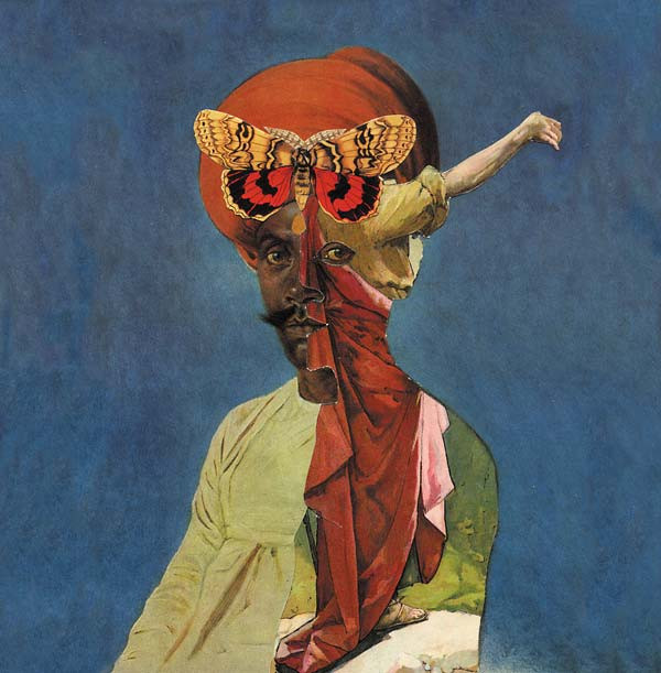 BLOOD STEREO/HAIR & TREASURE: Split LP LP