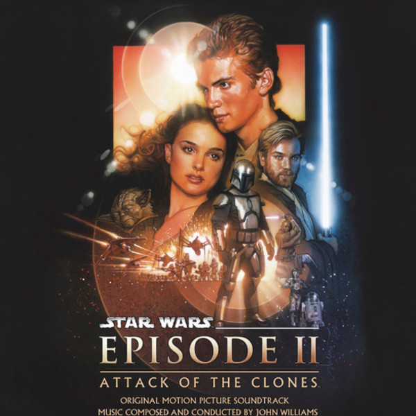 JOHN WILLIAMS: Star Wars Episode II: Attack of the Clones (Original Motion Picture Soundtrack) 2LP