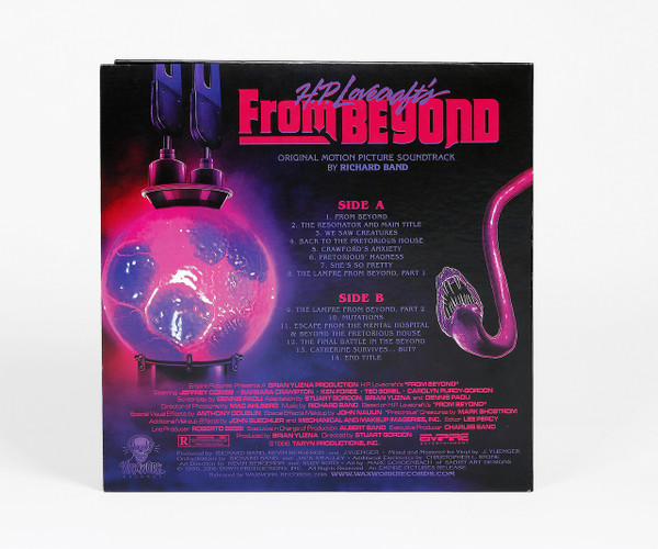 RICHARD BAND: From Beyond (Original Soundtrack) LP