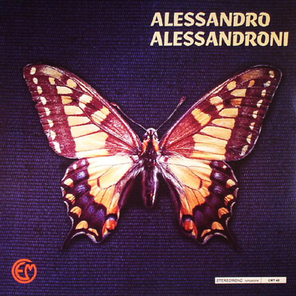 ALESSANDRO ALESSANDRONI: Butterfly #3 LP