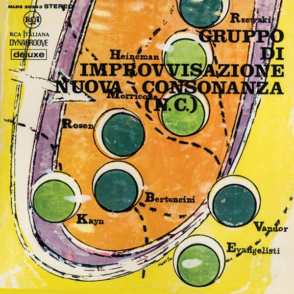 Gruppo di Improvvisazione Nuova Consonanza: Gruppo di Improvvisazione Nuova Consonanza LP+CD